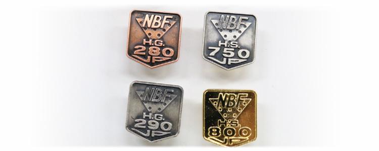 NBF褒章バッチ